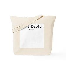 Juris Debtor -  Tote Bag