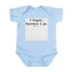 I litigate - Infant Creeper