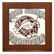 PASO ROBLES BASEBALL (1) Framed Tile