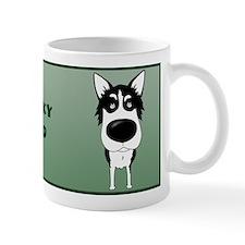 Big Nose Husky Dad Small Mug
