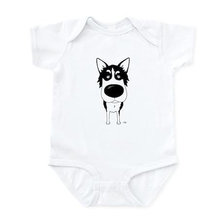 Big Nose Husky Infant Bodysuit