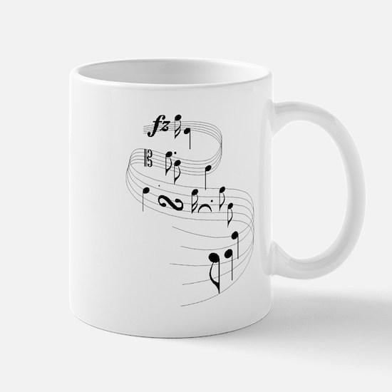 Note Cascade Mug