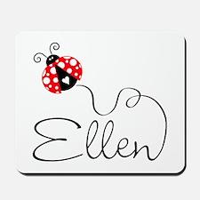 Ladybug Ellen Mousepad