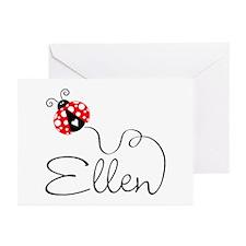 Ladybug Ellen Greeting Cards (Pk of 20)