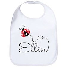 Ladybug Ellen Bib