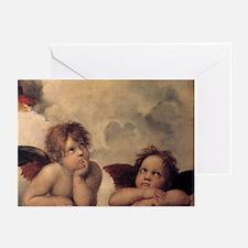 Raphael angel Greeting Cards (Pk of 10)