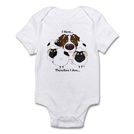 Aussie - I Herd... Infant Bodysuit
