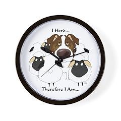 Aussie - I Herd... Wall Clock