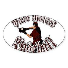 PASO ROBLES BASEBALL (8) Oval Sticker (10 pk)