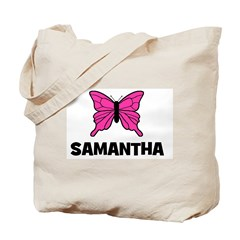 Butterfly - Samantha Tote Bag