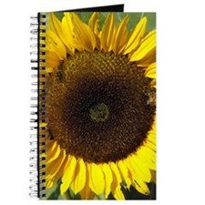 Sunflower and Bee Journal