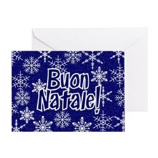 Snowflakes - italian Greeting Card