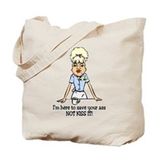 Save Your A** Tote Bag