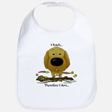 Golden - I Fetch... Bib