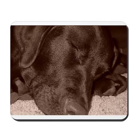 Sepia Lab Pup II Mousepad