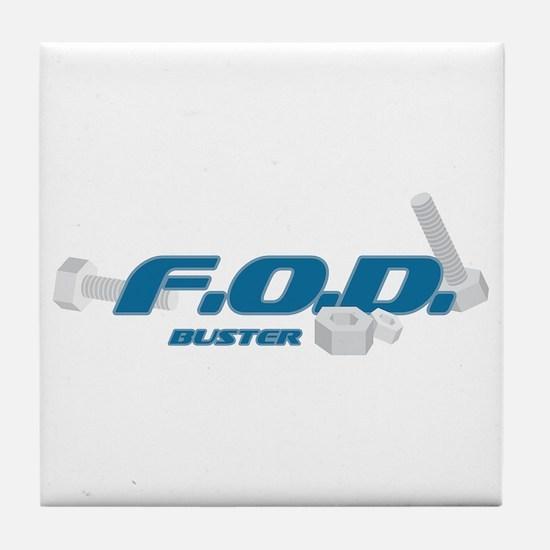 FOD Buster Tile Coaster