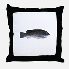 Blackfish - Tautog (m) Throw Pillow