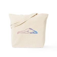 Reverse Mermaid Tote Bag