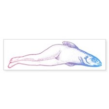 Reverse Mermaid Bumper Sticker (50 pk)