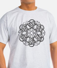 6 Triangles Knot T-Shirt