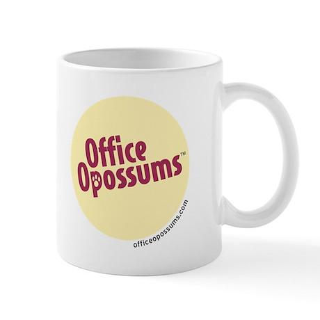 "Office Opossums ""So Green"" Mug"
