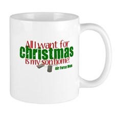 All I Want Air Force Son Mom Mug