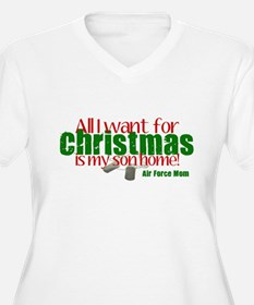 All I Want Air Force Son Mom T-Shirt