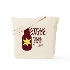 Steak Sauce Tote Bag