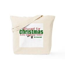 All I want Daughter AF Dad Tote Bag