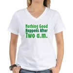 Nothing Good Women's V-Neck T-Shirt
