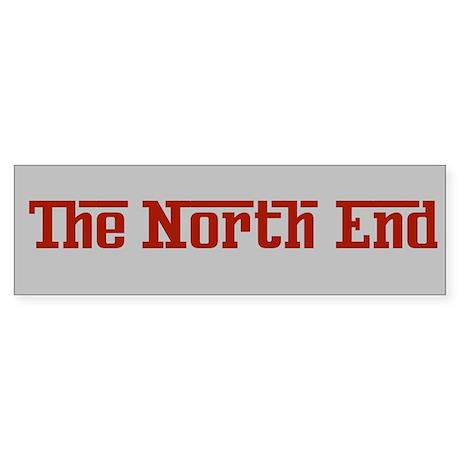 The Northe End Boston Bumper Sticker