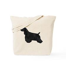Black & Tan Cocker Spaniel Tote Bag