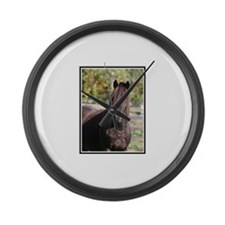 Horse Lovers Large Wall Clock