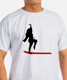 Funny Kung fu weapons T-Shirt
