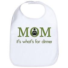 Mom=Dinner Bib