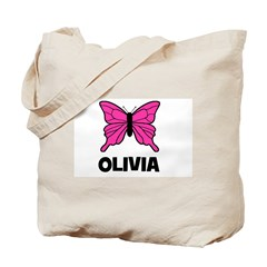 Butterfly - Olivia Tote Bag