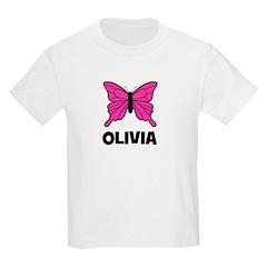 Butterfly - Olivia Kids T-Shirt