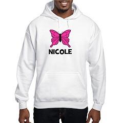 Butterfly - Nicole Hooded Sweatshirt
