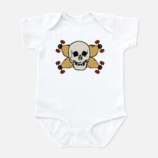 skull & skates Infant Bodysuit