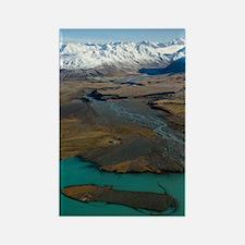 Lake Tekapo & Mountains Rectangle Magnet