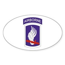 173rd Airborne Oval Decal