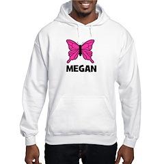 Butterfly - Megan Hooded Sweatshirt