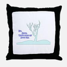 Funny Twilight new moon heart designs Throw Pillow