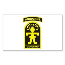 509th Airborne Gingerbread Ma Sticker (Rectangular