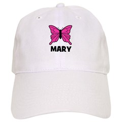 Butterfly - Mary Baseball Cap