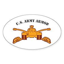Armor Branch Insignia U.S. Ar Oval Decal