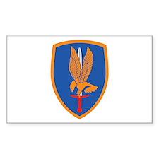 1st Aviation Brigade Rectangle Decal