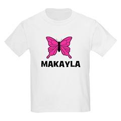 Butterfly - Makayla Kids T-Shirt