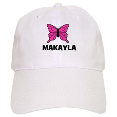 Butterfly - Makayla Baseball Cap