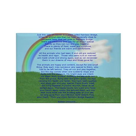 Rainbow Bridge Rectangle Magnet (100 pack)